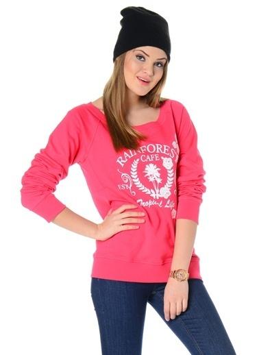 Loox Sweatshirt Pembe